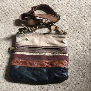 Loved fossil bag. No tears but some staining